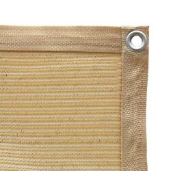 Shatex 90% Sun Shade Cloth with Grommets for Pergola Cover Canopy Wheat $55.48