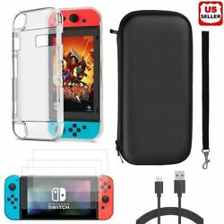 Accessories Case BagShell CoverCharging CableProtector for Nintendo Switch $14.87