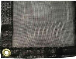 Shade Cloth Heavy Duty Commercial for 8 ft. x 24 ft. Greenhouse Accessory Cover