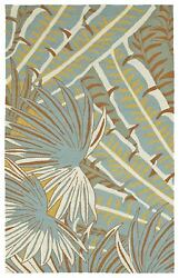 Kaleen Rugs Yunque Collection YUN01-01 Off-White 5' x 7'6 IndoorOutdoor Rug