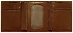 Floto Imports Mens Firenze Tri-Fold Wallet Italian Lambskin Leather