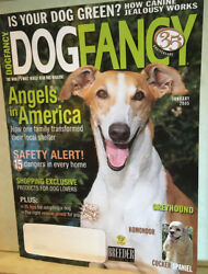 DOG FANCY MAGAZINE~JAN 2005  A 35TH ANNIVERSARY ISSUE:GREYHOUND COVER-128 PAGES