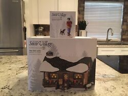 Department 56 Dept. 56 Loon Lake Cabin + Accessory Snow Village