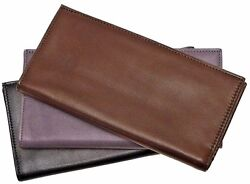 Floto Imports Mens Firenze Breast Pocket Wallet Italian Lambskin Leather