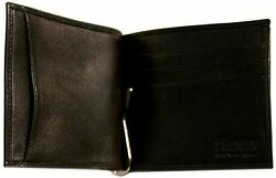 Floto Imports Mens Firenze Bill Clip Wallet Italian Lambskin Leather