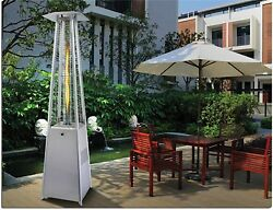 PTH Outdoor Bellagio Radiant Pit Patio Torch Heater Commercial Fire SS Radiant
