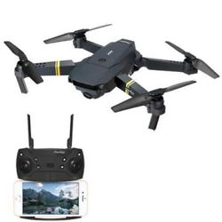 Eachine E58 WIFI FPV With 2MP Wide Angle Camera High Hold Mode Foldable RC Drone $57.99