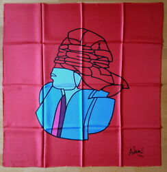 RARE LOT 10 SILK SCARVES FONDATION MAEGHT GREAT PAINTERS 1970s