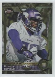2015 Topps Chrome Rookies STS Camo Refractor 499 Danielle Hunter #173 Rookie $10.83