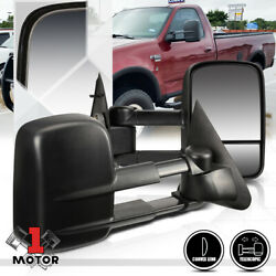 [Pair] Manual Telescoping Towing Side Mirror for 97-04 Ford F150F250 Light Duty $69.98