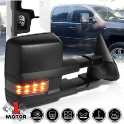[Right]Passenger Side Power+Heated LED Signal Towing Mirror for 03-07 Escalade