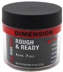 Sexy Hair Concepts Rough and Ready Dimension Pomade with Hold 4.4 oz