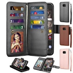 For Samsung Galaxy S7 S7 Edge Wallet Leather Phone Case Flip Stand Holder Cover