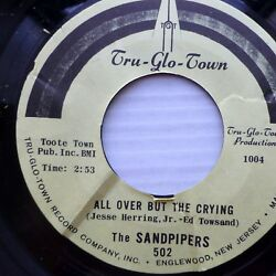SANDPIPERS mint minus 45 Ballad To A Missing Lover All Over But the Crying jr794