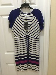 Women's Wearabouts Bathing Suit Cover Up Dress. Size Medium. NWT $37.95