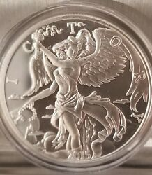 2015 Goddess Nike 1 Troy Oz .999 Silver Modern Ancients Round Coin Greek Zeus $56.99