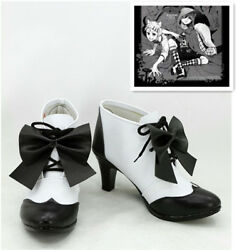 NEW ! Black Butler Ciel Phantomhive Party Cosplay Shoes Cos Shoes