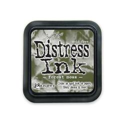 TIM HOLTZ DISTRESS INK PAD FOREST MOSS $4.75