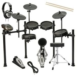Alesis Nitro Mesh Electronic Drum Set DRUM ESSENTIALS BUNDLE $429.99