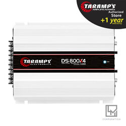 Taramps DS800x4 2 Ohms Amplifier DS 800 Watts 4 Channels 3 day Delivery USA $153.00