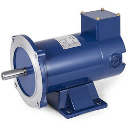 DC MOTOR 1/2HP 56C Frame 90V/1750RPM TENV MAGNET Durable Equipment Continuous $96.98