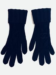 CHANEL Cashmere Gloves - NEW Authentic - in Box