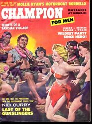 CHAMPION FOR MEN 1959 NOV GIRL FIGHT CVR FN $98.00