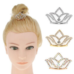 Novelty Girls Princess Tiara Crown w Comb For Kids Dress up Hair Accessory $6.68