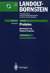 Biochemical and Physical Properties: Structural and Physical Data I (Landolt-Bör