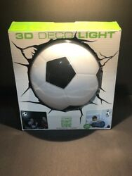 Small Lamps For Kids Bedside Wall Boys Soccer Ball Girls Light 3D Reading Toddle $24.99