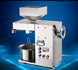 Commercial Electric Hot and Cold High Power Oil Press Machine Stainless Steel m