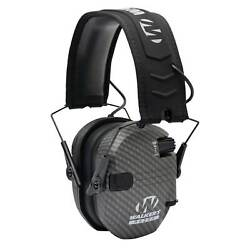 Walkers Razor Series Hearing Protection Slim Shooter Folding Earmuff Carbon