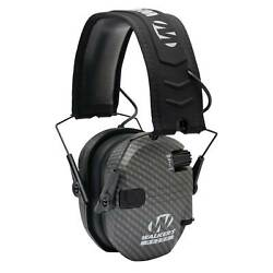 Walker#x27;s Razor Slim Shooting Ear Protection Muffs with NRR 23dB Carbon $49.99