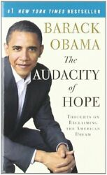 NEW The Audacity of Hope: Thoughts on Reclaiming the American Dream (Vintage)