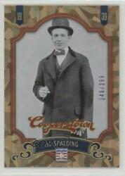 2012 Panini Cooperstown Crystal Collection 299 Al Spalding #15 HOF $1.92