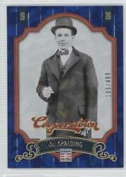 2012 Panini Cooperstown Blue Crystal Collection 499 Al Spalding #15 HOF $1.40