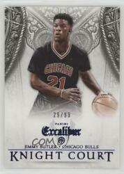 2014 Panini Excalibur Knight Court Blue99 #14 Jimmy Butler Chicago Bulls Card