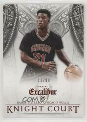 2014-15 Panini Excalibur Knight Court Red99 #14 Jimmy Butler Chicago Bulls Card