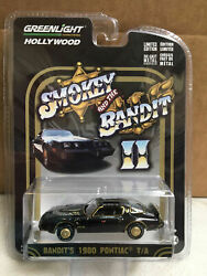 Greenlight 164 Smokey & The Bandit II 1980 Pontiac Trans Am HOLLYWOOD 44710-B