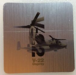 """Boeing V 22 OSPREY Helicopter Aircraft Bumper Window Sticker Decal 2.5""""X2.5"""" $3.99"""