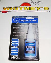 G5 Blu Glu G Lock Glue For Fletchings Vanes And For Putting Inserts In Arrows $11.99
