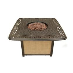 Hanover Traditions 41 In. Round Shaped Cast-Top Fire Pit Firepit Outdoor Patio