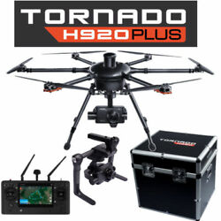 Yuneec Tornado H920 Plus Drone w CG04 Camera ProAction ST16 Case 3 Batts $2250.00