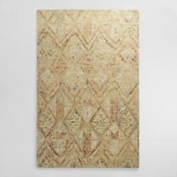 Cost Plus Maris Wool Carpet Rug 5'x8'