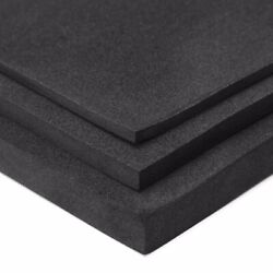 Black 3510mm ESD Anti Static High Density Foam Antistatic Insertion 200x200mm