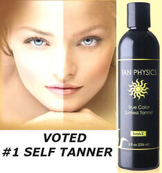 Tan Physics True Color #1 Rated Sunless Self Tanner Tanning Lotion $36.95