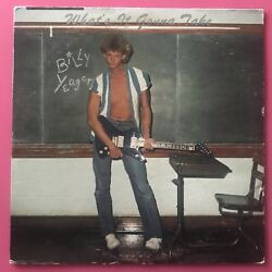 Billy Yeager - What's It Gonna Take LP power pop punk 1983 vinyl private press x