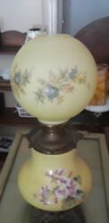 Wonderful quot;Gone with the Windquot; Antique Lamp $175.00