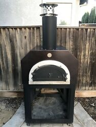 Mobile Wood-fired Pizza Chicago Brick Oven Outdoor Dining Copper
