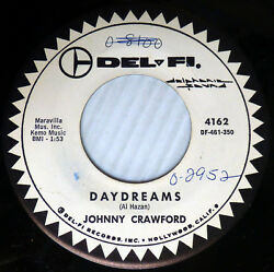 Johnny CRAWFORD Riflemen TV teen VG++Promo 45 DAYDREAMS~SO GOES THE STORY CT1009